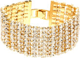 Natasha Accessories Natasha Crystal Multi-Row Alternating Bracelet