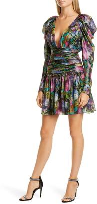 Flor Et. Al Abigail Long Sleeve Cocktail Dress