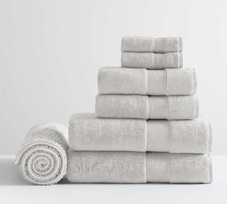 Pottery Barn PB Classic Organic Towel Bundle With Bath Mat - Set of 7