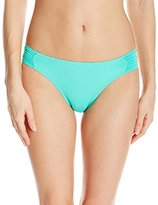 Bikini Lab Women's Solid Solutions Scrunch Hipster Bottom