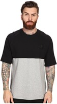 Converse Short Sleeve Color Block Crew Shirt