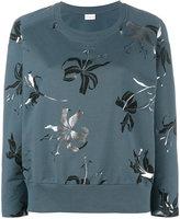 Dries Van Noten Hanack floral printed sweatshirt
