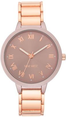 Nine West Women's Berry Round Dial Bracelet Watch