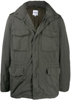 Aspesi drawstring waist jacket
