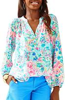 Lilly Pulitzer Elsa Silk Top