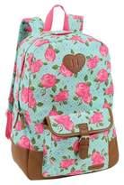 """Laura Ashley 17"""" Kids' Backpack - Bristol Rose"""