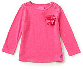 Joules Baby/Little Girls 12 Months-3T Corsage Embellished Jersey Top