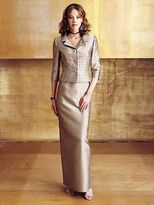 Mon Cheri Montage by Mon Cheri - 23967 Two Piece Dress In Taupe