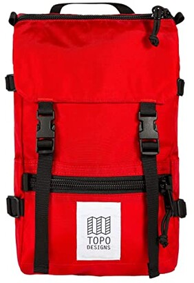 Topo Designs Rover Pack - Mini (Red/Red) Backpack Bags