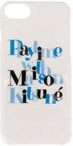 MAISON KITSUNÉ logo iPhone 6 case - unisex - Polycarbonite - One Size