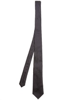 Bottega Veneta Diamond-jacquard silk tie