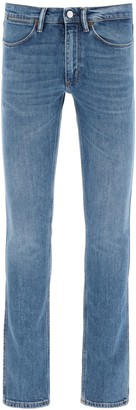 Acne Studios max mid blue jeans