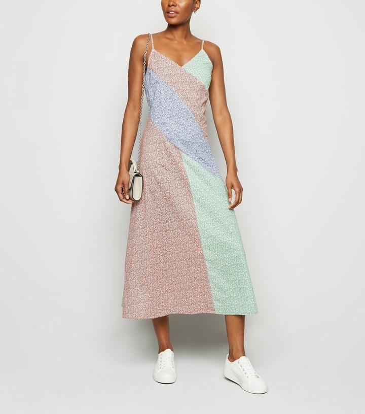 New Look NA-KD Floral Midi Dress