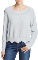 Vero Moda Mallis Scalloped Hem Sweater
