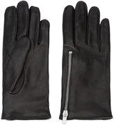 Yang Li zipped cuff gloves