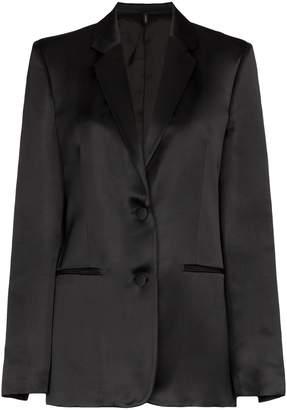 Helmut Lang tuxedo single-breasted jacket