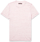 Michael Kors Slim-Fit Space-Dyed Knitted Cotton T-Shirt