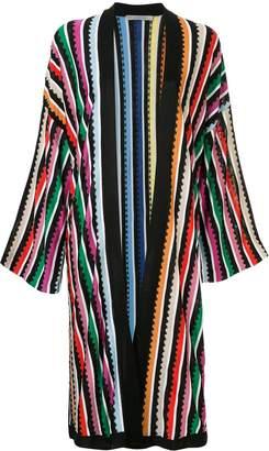 Mary Katrantzou striped knit cardigan