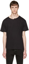 Valentino Black Pin Necklace Punk T-shirt