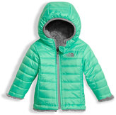 The North Face Reversible Mossbud Swirl Jacket, Green, Size 3-24 Months