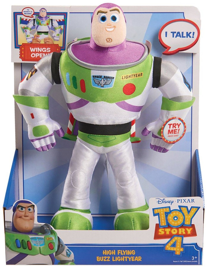 Toy Story 4 High Flying Buzz Lightyear Feature Plush