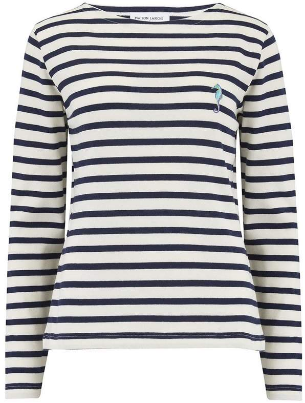 bdf5f69f3c9b Navy And White Striped Shirt Womens - ShopStyle Australia
