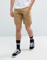 Vans Authentic 20 Shorts In Tan Va319r4qf