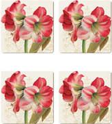 Cala Home Holiday Garden Coasters (Set of 4)