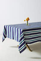 Anthropologie Cirque Striped Tablecloth