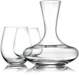 Williams-Sonoma Williams Sonoma Reserve Stemless Red Wine Glasses & Decanter Gift Set