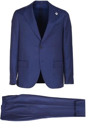 Lardini single-breasted suit. Jacket