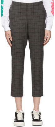 6397 Grey Wool Pull-On Trousers