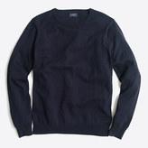 J.Crew Factory Harbor cotton crewneck sweater