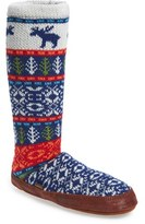 Acorn Women's Print Slipper Sock