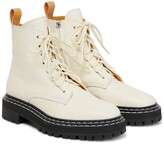 Thumbnail for your product : Proenza Schouler Leather lace-up ankle boots