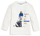 3 Pommes Infant Boys' Captain of Ice Breaking Ship Tee - Sizes 3-24 Months