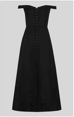 Whistles Arian Corset Bardot Dress