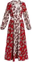 DODO BAR OR Harrison paisley-print silk midi dress
