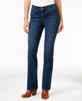Style&Co. Style & Co. Tummy-Control Marine Wash Bootcut Jeans, Only at Macy's
