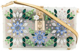 Dolce & Gabbana floral appliqué shoulder bag