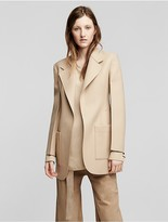 Calvin Klein Collection Wool Patch Pocket Jacket