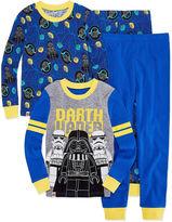 LICENSED PROPERTIES Star Wars 4 PC Pajama Set - Boys