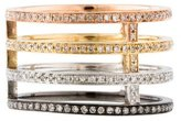 Ring 18K Stacked Diamond Eternity Band