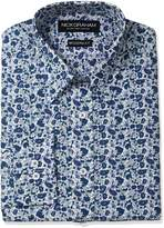 Nick Graham Men's Paisley Cotton Dress Shirt