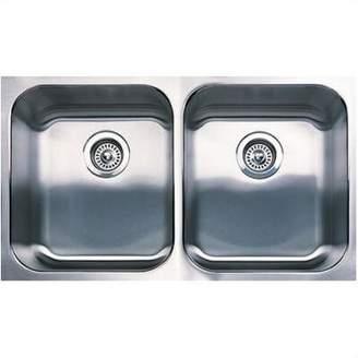 "Blanco Spex 31.13"" L x 18"" W Plus Equal Double Bowl Undermount Kitchen Sink"