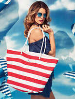 New York & Co. Rope-Handle Tote Bag - Stripe