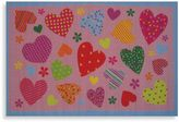 Fun Rugs Fun RugsTM Hearts Accent Rug in Pink
