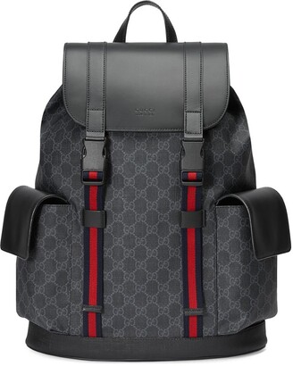 Gucci GG Supreme pattern backpack