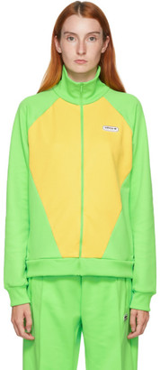 adidas LOTTA VOLKOVA Yellow and Green Podium Track Jacket