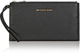 MICHAEL Michael Kors Essentials Textured-leather Pouch - Black